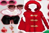 العاب تلبيس ملابس حمراء