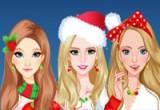 العاب الاحتفال بعيد الميلاد للبنات