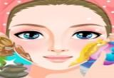 لعبة تنظيف بشرة صبايا كيوت
