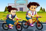 لعبة سباق المدرسة