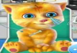 لعبة اسعاف القط الحزين