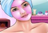 لعبة تنظيف بشرة الفتاة الحلوة