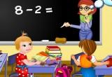 لعبة تلوين اطفال المدرسة