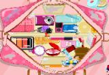 لعبة ترتيب حقيبة المكياج الملونة