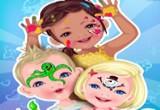 لعبة تزيين الوجه للاطفال