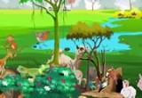العاب تلوين وترتيب غابة الحيوانات